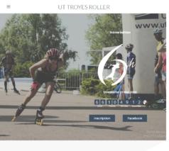 Lancement du nouveau site internet pour L'UTTroyes Roller